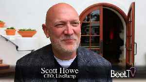 After IPG Sale, Acxiom's LiveRamp Is Now 'Neutral': CEO Howe [Video]