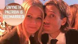 All you need to know about Gwyneth Paltrow's Hamptons wedding [Video]