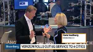 Verizon CEO on Rolling Out 5G Service to Four Cities [Video]
