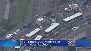 Crashes At Lincoln Tunnel Helix Cause Delays [Video]