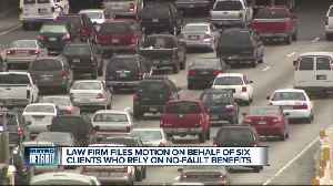 Law firm files motion on behalf of clients who rely on no-fault benefits [Video]
