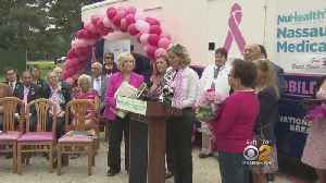 Breast Cancer Awareness Month Celebrated On Long Island [Video]