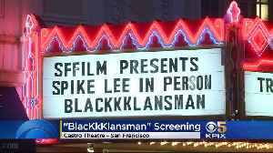 SFFILM Hosts BlacKkKlansman Director Spike Lee For Special Tribute At Castro Theatre [Video]