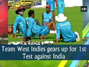 Team West Indies gears up for 1st Test against India [Video]