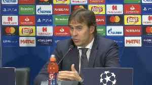Don't blame Benzema for lack of goals, says Real Madrid boss Lopetegui [Video]