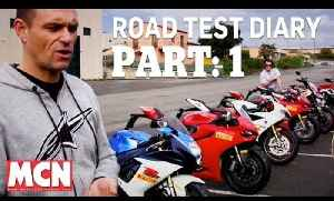 Road Test Diary: PART 1   Feature / Diary   Motorcyclenews.com [Video]