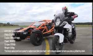 KTM 1290 Super Adventure vs Ariel Nomad | Specials | Motorcyclenews.com [Video]