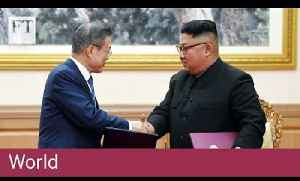 Kim Jong Un agrees to 'permanently' close missile sites [Video]