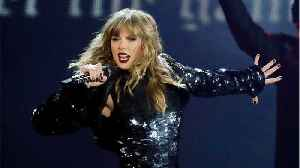 Taylor Swift Opens American Music Awards [Video]
