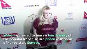 Rebel Wilson Photo Hints at 'Pitch Perfect 4' [Video]
