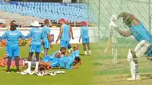 India VS West Indies1st Test: Team West Indies gears up for upcoming match | वनइंडिय&# [Video]