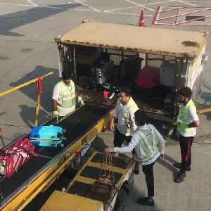 Hong Kong Airport Employees Toss Luggage Carelessly [Video]