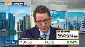 Dollar Strength to Peak in Second Quarter of 2019, BofAML's Piron Says [Video]