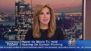 NYC Hearing On Gender Options [Video]