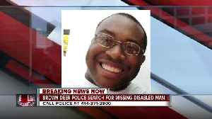 Brown Deer Police searching for missing man with mental health concerns [Video]