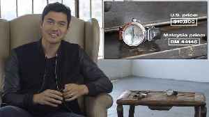 Henry Golding Shows Off Some Tasty Timepieces From His Watch Collection [Video]