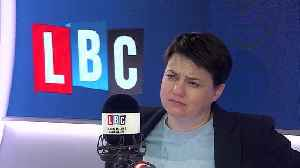 Ruth Davidson Reveals How She Copes With Mental Health Worries In Politics [Video]