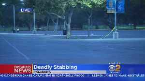 Man Stabbed To Death In Rose Bowl Parking Lot [Video]