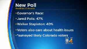 New Poll: Polis Leads Stapleton By 7 Points In Governor's Race [Video]