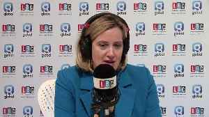 Iain Dale Gets A Telling Off From Former Home Secretary Amber Rudd [Video]