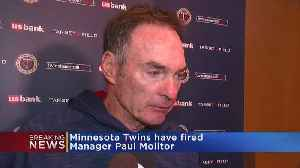 Twins Release Paul Molitor As Manager [Video]