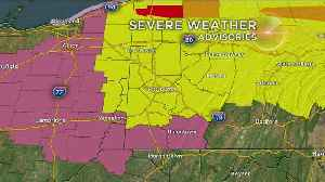 Special Report: Tornado Watch Issued For Western Pa. [Video]