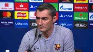 Barcelona's Valverde expects the 'best version' of Tottenham in Champions League match [Video]