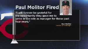 Paul Molitor Fired As Twins Manager [Video]