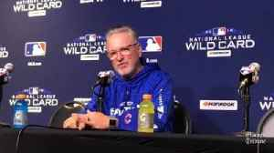 Cubs' Joe Maddon on Strop, Bote [Video]