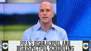 FIFA's Disgraceful And Disrespectful Scheduling Against The Women's World Cup Final [Video]