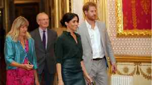 Meghan Markle Wore A $595 Leather Skirt With A $99 blouse For Her First Official Visit To Sussex [Video]