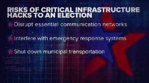 How hackers could target a city's critical infrastructure on Election Day [Video]