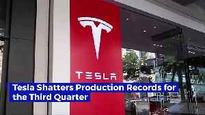Tesla Shatters Production Records for the Third Quarter [Video]
