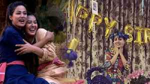Hina Khan's birthday made special by Shilpa Shinde; Watch video | FilmiBeat [Video]