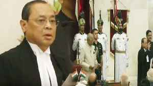 Justice Ranjan Gogoi बनें 46th Chief Justice of India | Oath Ceremony | वनइं&#x9 [Video]