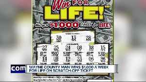 Wayne Co. man wins $1K a week for life playing Michigan Lottery instant game [Video]