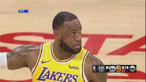 LeBron James' First Home Game As Laker [Video]