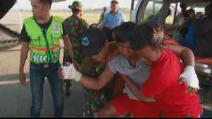 'Time running out' for Indonesia tsunami survivors [Video]