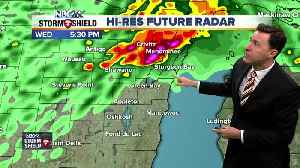 WEATHER AWARE DAY: Michael Fish's NBC26 Storm Shield weather forecast [Video]