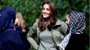 News video: Kate Middleton Compliments School Girl
