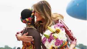 Melania Trump's First Solo Visit To Africa [Video]