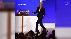 British PM Theresa May Is A 'Dancing Queen' [Video]