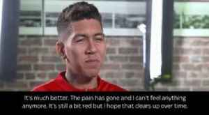 Firmino: I was scared of going blind [Video]