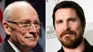 First Look At Christian Bale's Transformation Into Dick Cheney [Video]