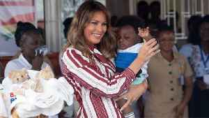 News video: Melania Trump Takes 'Be Best' Campaign to Africa