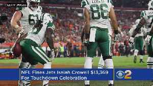 Jets' Crowell Fined $13K By NFL For 'Wipe' Celebration [Video]