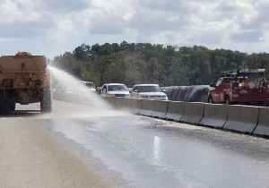 SCDOT Removes Flood Barrier from Conway Highway [Video]