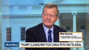 Max Baucus Weighs in on USMC Deal and Kavanaugh Investigation [Video]