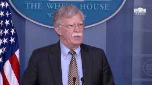 John Bolton Makes Announcement Referring To  The 'So-Called State Of Palestine' [Video]