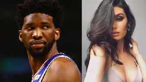 Joel Embiid Spotted with Baddie Sports Illustrated Model GF [Video]
